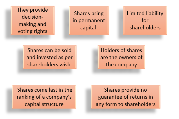 Shares- Types and Features