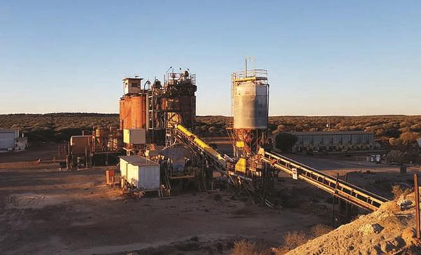 Sandstone Processing Plant