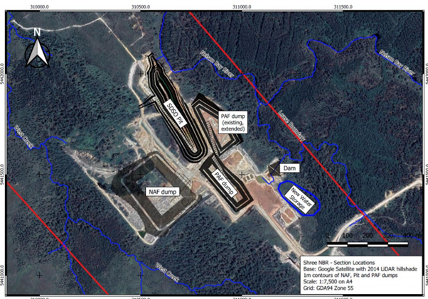 Proposed Development of DSO operations source: Shree Minerals