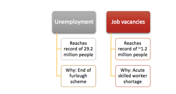 Why UK job vacancies reached record highs despite cooling unemployment?