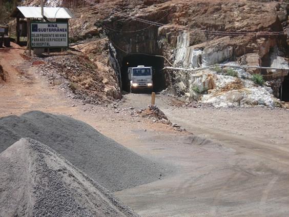 The Palito Gold Mine